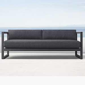 Three Seater Metal Sofa