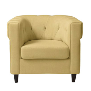 commercial sofa single seater