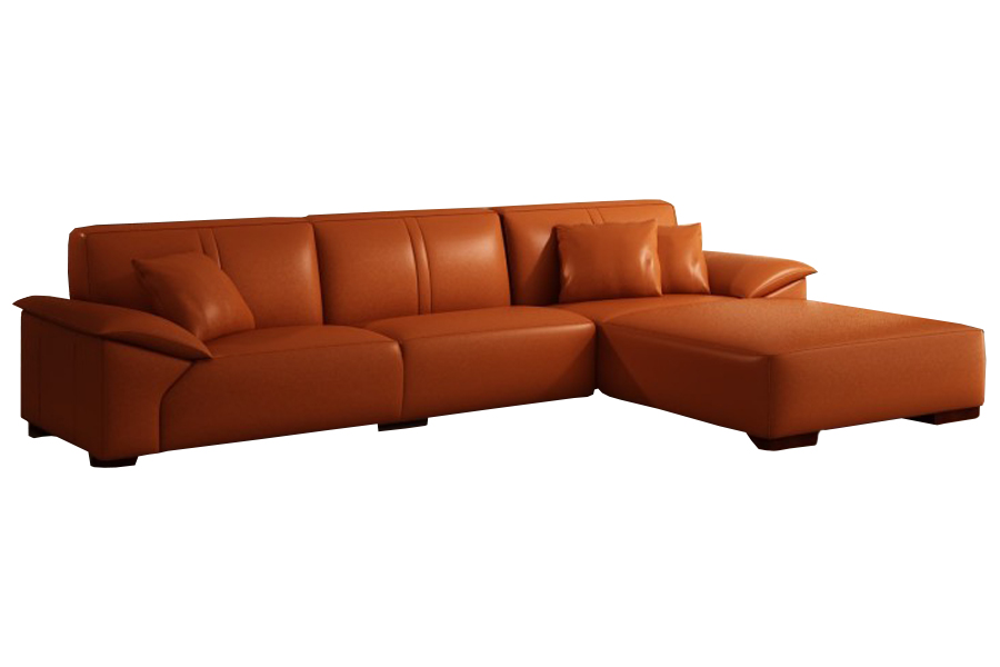 L Shape Leatherite Sofa